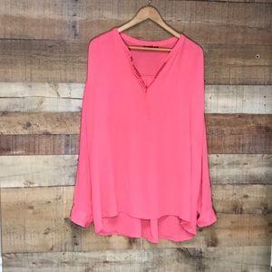 a.n.a woman's shirt size 3X